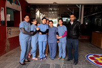Hospital Staff and Dr. Bal Mukumba