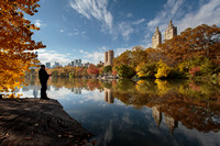 Central Park - The Lake and Central Park West